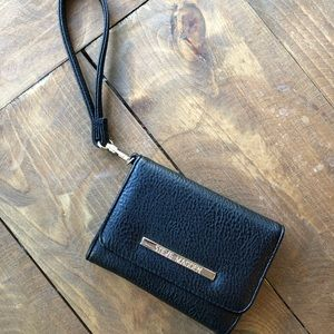 Steve Madden Black Leather Wallet